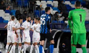 Champions League: Έτσι προηγείται η Ρεάλ Μαδρίτης στο ημίχρονο της Ίντερ 2-1 (vid)!
