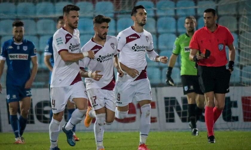 ΠΑΣ Γιάννινα - ΑΕΛ: Το γκολ της νίκης (1-2) από τον Πινακά  (vid)