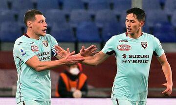 Serie A: Πρώτη φετινή νίκη για Τορίνο, 2-1 την Τζένοα (highlights)