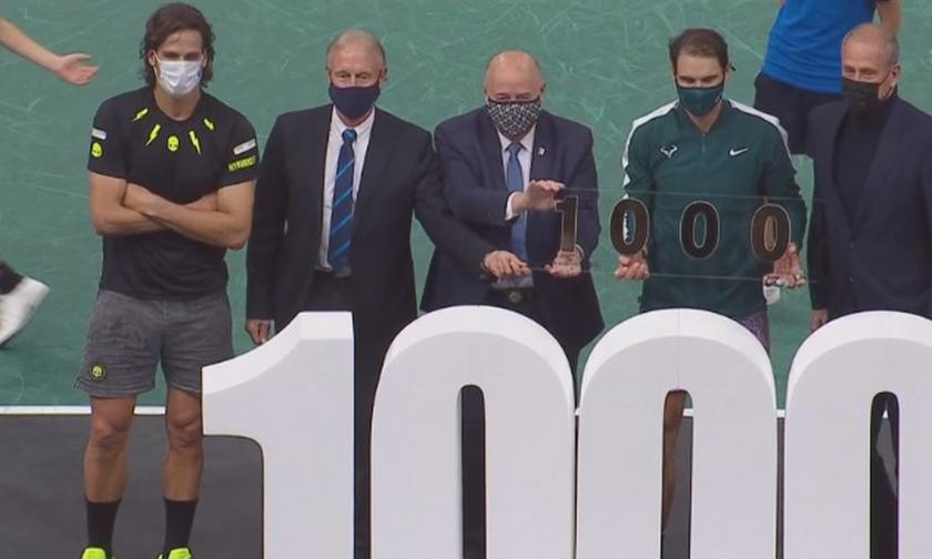 Paris Masters: Ζόρικη η 1000η νίκη του Ναδάλ στο ATP Tour (vid)