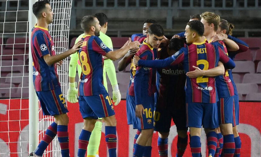 Champions League: Το 2ο γκολ της Μπαρτσελόνα με κεφαλιά του Πικέ (vid)
