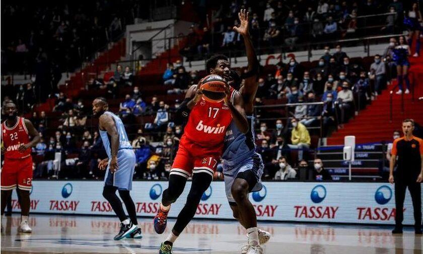 Ζενίτ-Ολυμπιακός 66-75: Κόκκινο «παγοθραυστικό» εκτόπισε το συγκρότημα του Πασκουάλ