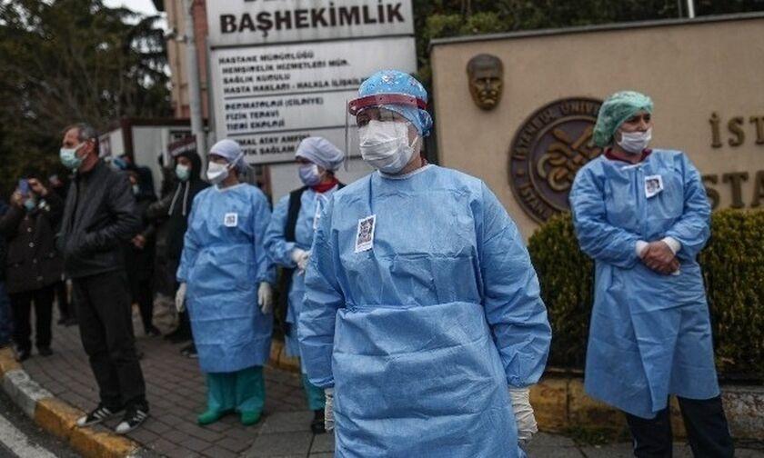 Βερολίνο: «Αναξιόπιστος ο τρόπος καταγραφής των κρουσμάτων κορονοϊού στην Τουρκία»