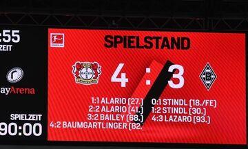 Bundesliga: Διατήρησαν το αήττητο τους Μπάγερ Λεβερκούζεν και Βόλφσμπουργκ (highlights)!