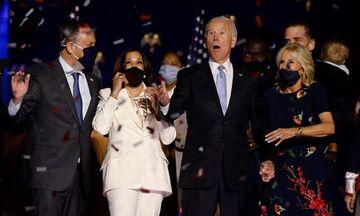 ΗΠΑ: Ο Τζο Μπάιντεν κήρυξε επισήμως την νίκη του