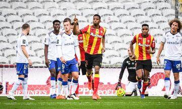 Ligue 1: Ανατροπή και νίκη η Λιόν - «Όρθια» στο φινάλε η Λανς, 4-4 τη Ρεμς (highlights)
