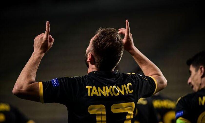 Τάνκοβιτς: «Δεν έχω μετανιώσει που επέλεξα την ΑΕΚ- Το Europa League ήταν ένας από τους λόγους»