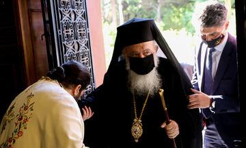 Σε καραντίνα ο Αρχιεπίσκοπος Ιερώνυμος και η Ιερά Σύνοδος (vid)