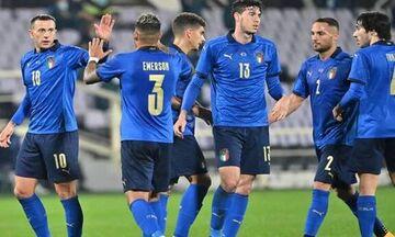 Δύο γκολ η Ιταλία στο πρώτο μέρος του φιλικού με την Εσθονία (vid)!