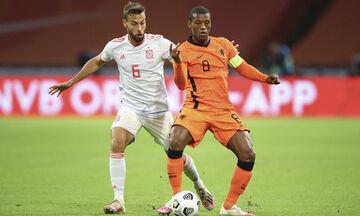 Διεθνή φιλικά: Έμειναν στο 1-1 Ολλανδία - Ισπανία, έκπληξη της Φινλανδίας στο Παρίσι (Ηighlights)!