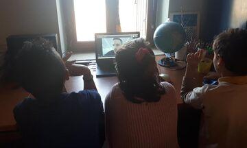 «Ζήσε Αθλητικά»: Ο Πετρούνιας «επισκέφθηκε» το Δημοτικό Σχολείο Γαύδου