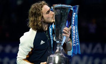 ATP Finals: Αντίπαλος με Ναδάλ, Τιμ και Ρούμπλεφ ο Τσιτσιπάς