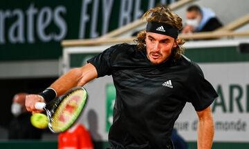ATP Finals: Προπονήθηκε ο Τσιτσιπάς (vid)