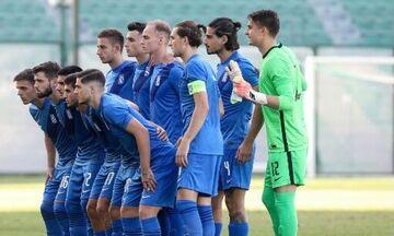 Live Streaming: Ελλάδα U21-Τσεχία U21 (19:00)