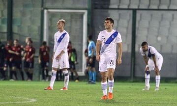 Ελλάδα U21-Τσεχία U21 0-2: Αποκλεισμός για την Εθνική από τα τελικά του Euro