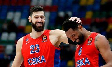 Euroleague: Έφτασε τα 500 παιχνίδια η ΤΣΣΚΑ- Στη 3η θέση ο Ολυμπιακός!