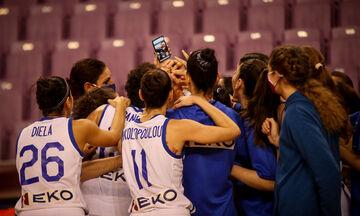Live Streaming: Ελλάδα - Σλοβενία (20:00, προκριματικά Ευρωμπάσκετ γυναικών)