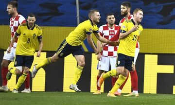 Nations League: Έτσι προηγήθηκε με 2-0 η Σουηδία της Κροατίας (vid)!