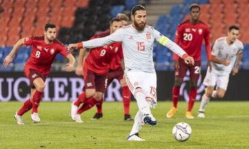 Nations League 2020-21: Aφού γλίτωσε την Ισπανία από 2ο γκολ έχασε πέναλτι ο Σέρχιο Ράμος (vid)!