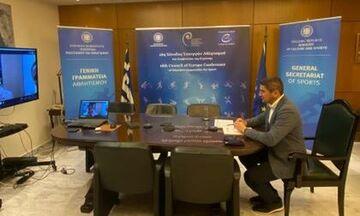 Αυγενάκης: «Προσπάθεια ενίσχυσης των ερασιτεχνών αθλητών»
