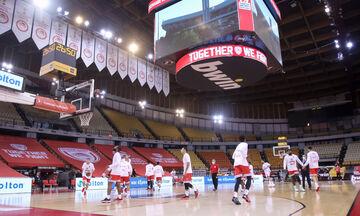 Ολυμπιακός: Σε καραντίνα όλη η ομάδα - Νέα τεστ την Τετάρτη (18/11)