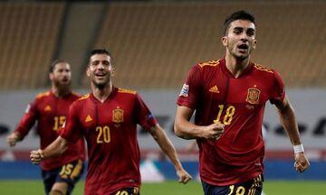 Νations League: Θριαμβευτικό πρώτο ημίχρονο για την Ισπανία, 3-0 τη Γερμανία (vid)