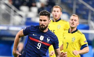 Νations League 2020-21: Το γύρισε η Γαλλία με την Σουηδία χάρη σε Ζιρού και Παβάρ (vid)!