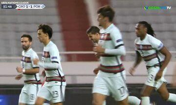 Κροατία-Πορτογαλία: Ασίστ Σεμέδο και γκολ ο Ντίας για το 1-1 (vid)