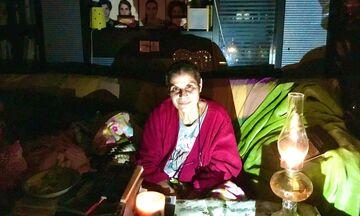 Μαργαρίτα Θεοδωράκη: Δεν έχω ρεύμα, φως, δεν έχω να μαγειρέψω, δεν έχω τίποτα πια!