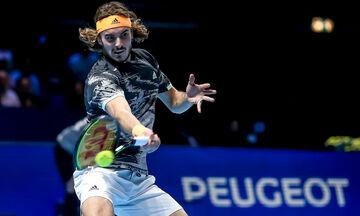 Live score ATP Finals : Τσιτσιπάς - Ναδάλ (22.00)