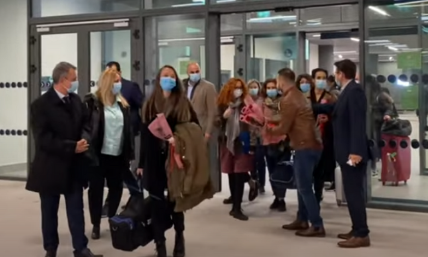 Δέκα νοσηλεύτριες από την Κρήτη, εθελόντριες στη Θεσσαλονίκη