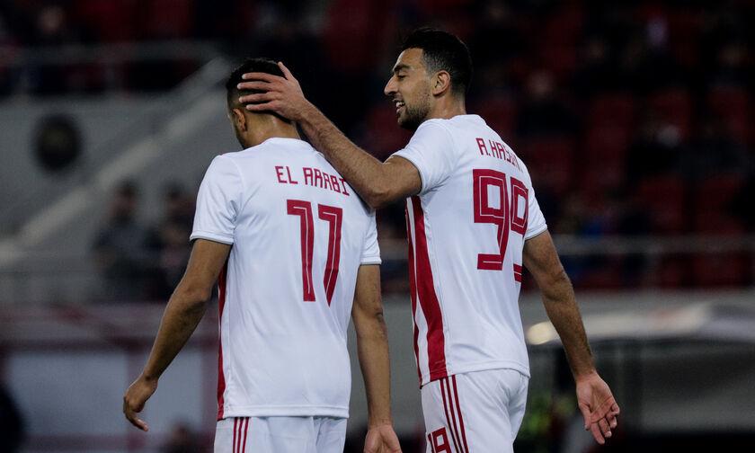 Τα γκολ που χάνει ο Ολυμπιακός από Ελ Αραμπί, Χασάν