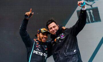 Mercedes: Μετά το 2020 οι συζητήσεις με Χάμιλτον για ανανέωση
