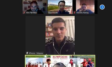 Ακαδημία Ολυμπιακού: Με Βρουσάι το 8ο διαδικτυακό σεμινάριο των Σχολών