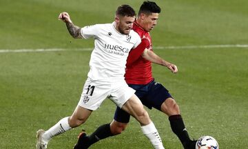 La Liga: «Μοιρασιά» μεταξύ Οσασούνα κι Ουέσκα (highlights)