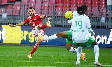 Ligue 1: Tεσσάρα (4-1) η Μπρεστ στην Σεντ Ετιέν (highlights)!