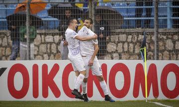 Λαμία - Αστέρας Τρίπολης: Το γκολ του Τσούκαλου και η απάντηση από τον Ριέρα (vid)
