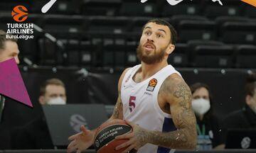 Euroleague: MVP στην «διαβολοβδομάδα» ο Μάικ Τζέιμς της ΤΣΣΚΑ (pic-vid)