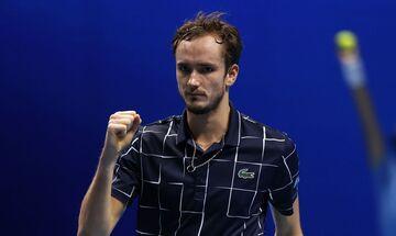 ATP Finals: Ο Μεντβέντεφ... ανέτρεψε τον Ναδάλ στο Λονδίνο