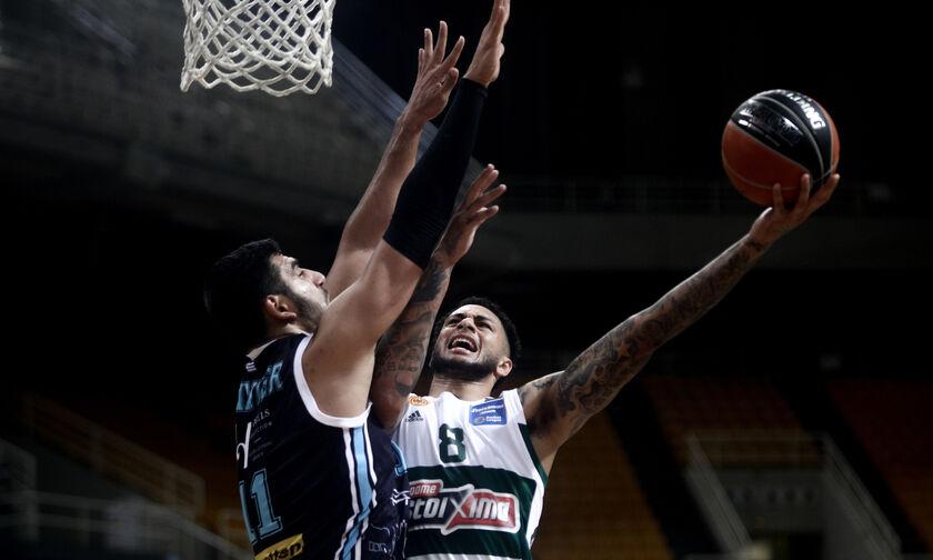 Παναθηναϊκός- Κολοσσός Ρ. 90-67: Βρήκε... παρηγοριά στη Basket League (highlights)