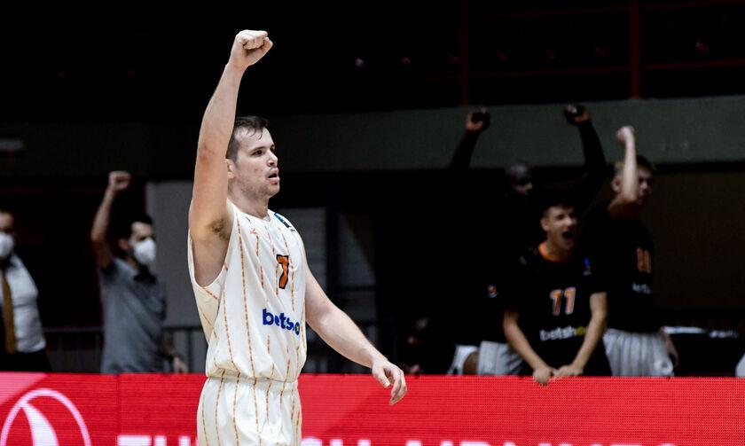 Αγραβάνης: MVP της αγωνιστικής στη Basket League
