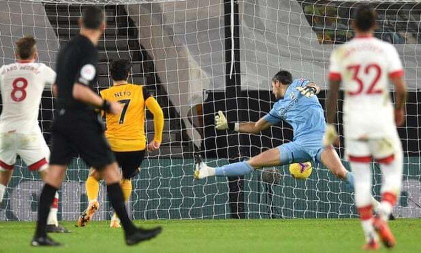 Premier League: Ο Νέτο έδωσε το βαθμό στη Γουλβς (highlights)
