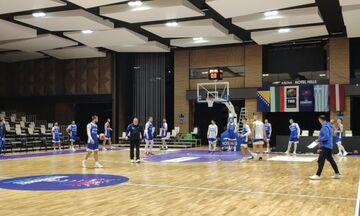 Εθνική ομάδα μπάσκετ: Στο Σεράγεβο εν μέσω πανδημίας (vid)
