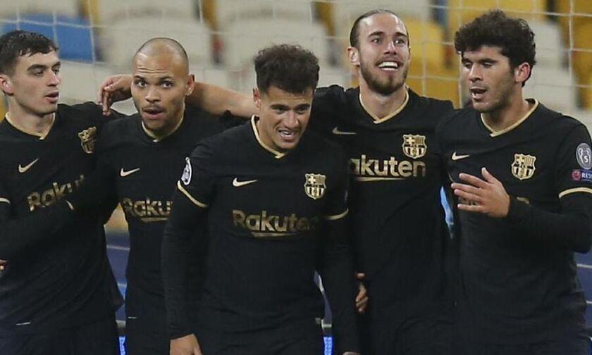 Ντινάμο Κιέβου - Μπαρτσελόνα 0-4: Πρόκριση στους «16» με τα... δεύτερα οι Καταλανοί (highlights)!