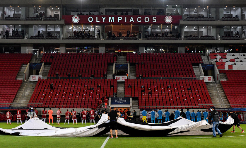 LIVE: Ολυμπιακός - Μάντσεστερ Σίτι (19:55)