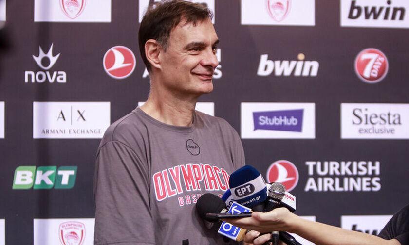 LIVE Streaming: Media Day του Ολυμπιακού ενόψει Μπασκόνια