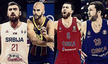EuroLeague: Οι 11 «πρώην» του Ολυμπιακού και οι 6 του Παναθηναϊκού