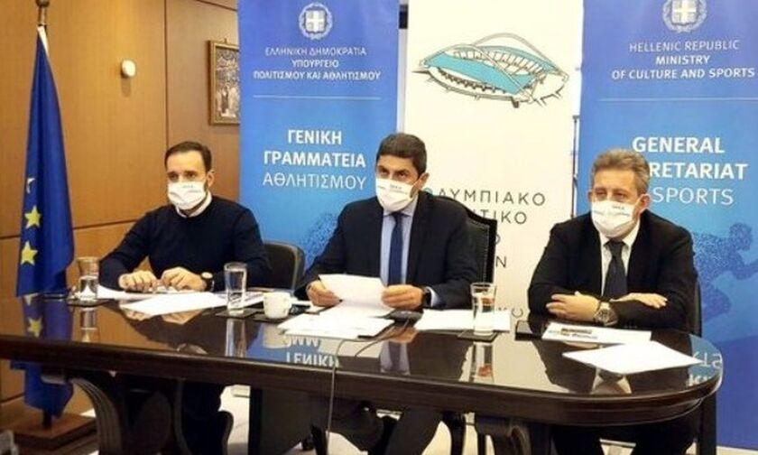 Αυγενάκης για έργα στο ΟΑΚΑ: Θα κατασκευαστούν πισίνα, γήπεδο χάντμπολ και μουσεία