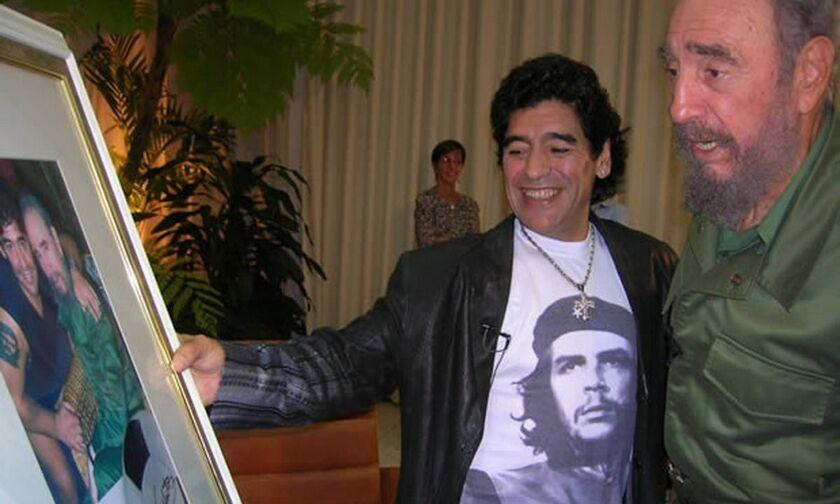 Ντιέγκο Μαραντόνα: Πέθανε την ίδια μέρα με τον φίλο του Φιντέλ Κάστρο και τον Τζορτζ Μπεστ (vid)