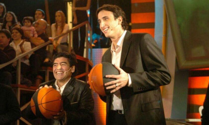 Η υπόκλιση του Ντιέγκο στον μπασκετικό «Μαραντόνα» (pic)